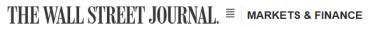 The Wall Street Journal - Market & Finance